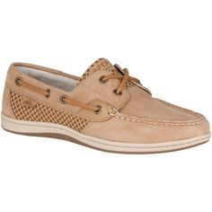 SPERRY WOMEN'S KOIFISH ETCHED BOAT SHOE - LINEN. #sperry #shoes #all