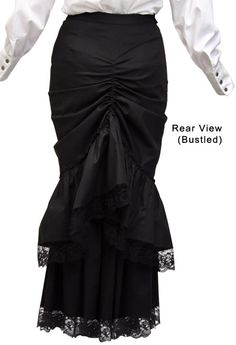 victorian bustle skirt, can wear bustled or not...could I pull this off?