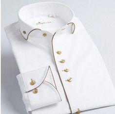 Online Shop New french style male long sleev collar cotton 100% slim Fit Men Dress Shirt Fashion | Aliexpress Mobile