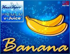 "Banana - Reg. price $5.99 #CyberMonday: 45% off! Use code ""cybermonday"" at checkout. #ejuice #vaping #ecigs http://www.venusvapor.com/product/banana/"