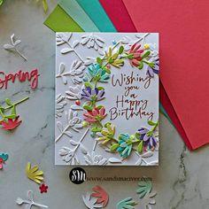 Paper Craft Making, Homemade Birthday Cards, Spellbinders Cards, Elizabeth Craft, Diy Cards, Handmade Cards, Interactive Cards, Pretty Cards, Card Kit