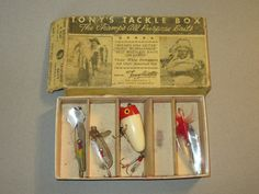 Tony Accetta Tackle Book Lure Kit