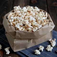 Sweet and Salty Popcorn by snixykitchen