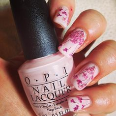Day 14 for @gelulicious #gellichallenge #31daynailchallenge is flowers