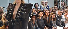 """Défilé, thème """"velours"""", veste brodée à épaulettes, jeu de manches  www.mode-estah.fr"""