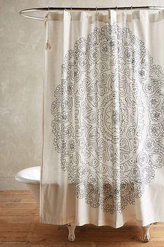 eastern emblem shower curtain