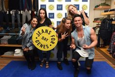 #GAPParty #JeansforGenes #JeansforGenesDay