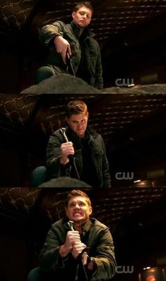 This was one of the funniest scenes.  Jensen has some serious comedy chops.