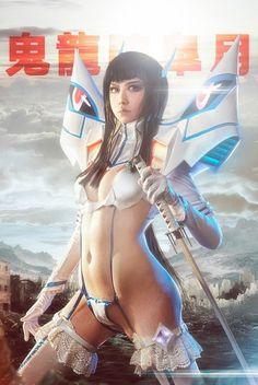 Satsuki Kiryuin from KILL la KILL Cosplay || anime cosplay