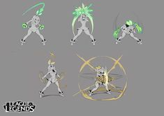 Move studies for early Qiyana absorbing elements for grass and ground. Female Character Design, Character Design References, Terror In Resonance, League Of Legends Characters, Super Soldier, Animation Reference, Female Anime, Action Poses, Tag Art