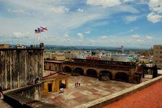 Castillo de San Cristobal. San Juan Puerto Rico