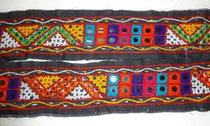 vintage Kutch Indian Embroidered Lace / Trim  2 by uDazzleSupplies