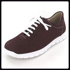 Stuppy Damen Schuhe taupe Halbschuhe Leder Stretch Fußbett