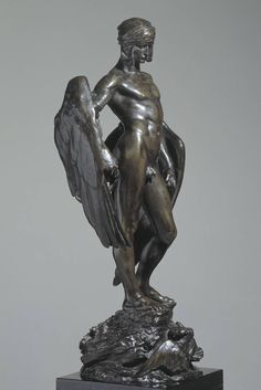 Roman Sculpture, Art Sculpture, Abstract Sculpture, Bronze Sculpture, Joan Of Arc Statue, Greek Statues, Angel Statues, Masculine Art, 17th Century Art