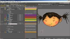 e.d.Films Tutorial: Animating a Simple Character Head Rotation in After ...