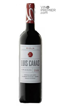 VINO TINTO LUIS CAÑAS CRIANZA 2009  Vinos Tintos - D.O. Rioja   8.15€    Precio con I.V.A. Incluido  $10.65