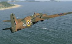 The Vickers Wellington Bomber was widely used as a night bomber in the early war ~ BFD