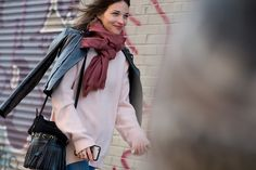The Best Street Style From New York Fashion Week | NYFW Fall 2015 | ELLE.com