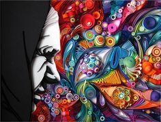 matéria mestres do papel obra de arte da Yulia - blog cadernorama Article about paper masters