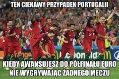 Kiedy awansujesz do półfinału Euro nie wygrywając żadnego meczu • Ciekawy przypadek Portugalii na Euro 2016 • Memy Polska Portugalia >> #pol #polska #memy #pilkanozna