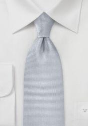 Krawatte einfarbig Struktur hellgrau günstig kaufen