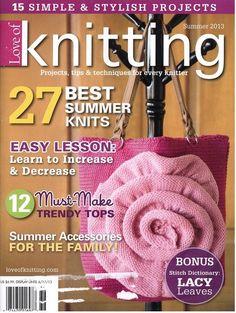 Knitting verano 2013                                                עמוד 69 סוודר שחור  bonita revista para este verano