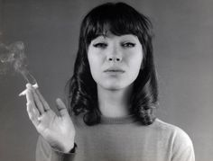 Anna Karina- my goal is to look like a yé-yé girl that knows Kung-fu