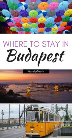 The best areas to stay in Budapest according to a local. Includes an overview of the best Budapest neighborhoods to stay and visit during your trip.