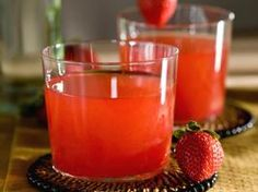 A Very Berry Brazilian    1-1/2 oz. Cachaca, Brazilian rum   3 strawberries*, diced   1 tsp. agave nectar   Two dashes ground cinnamon*    *Strawberries are as high in vitamin C as orange juice, and one teaspoon of cinnamon contains 28 mg of calcium and 1 mg of iron.    Muddle the strawberries, agave and cinnamon in the bottom of a shaker glass. Add ice and Cachaca. Shake well and strain into a large rocks glass.