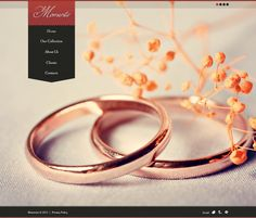 Jewelry Website Template. Easy customizable theme with 24/7 accessible customer support.