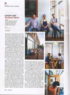 PAULINE EIFERMAN » Archive » Monocle Magazine, October Issue