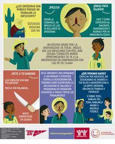 Infografía para concientizar sobre la igualdad en México.