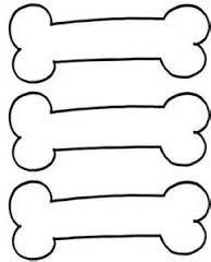 Image result for dog bone template printable