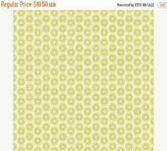40% OFF SALE - Oval Elements in KEY Lime (Oe-909) - Pat Bravo - Art Gallery Fabrics - By the Yard