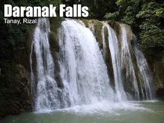 Daranak Falls, Tanay, Rizal Philippines