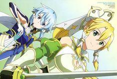 Online Anime, Online Art, Sword Art Online Season, Sinon Ggo, Kingdom Hearts Anime, Sao Anime, Manga Anime, Asada Shino, K Project Anime