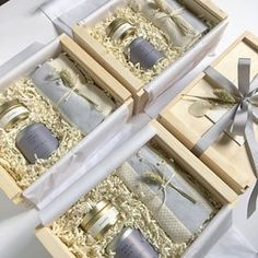 Client Gifts for workshop event. Relaxation Gift Box. Get well gift box.
