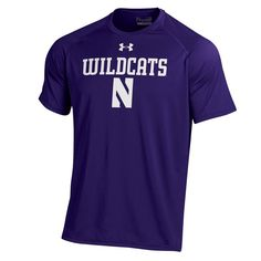 Men's Under Armour Northwestern Wildcats Tech Tee, Size: Large, Ovrfl Oth