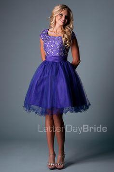 Clancy. Latterdaybride.com $225 in blue, purple, or yellow