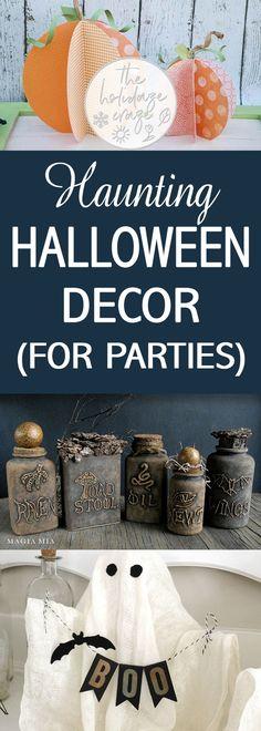 647 best Halloween images on Pinterest Halloween, Halloween - good halloween decoration ideas