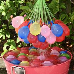 Buy Catterpillar 60 Seconds Fill & Automatic Tie Multi Colored Magic Bunch of Water Balloons Online at low price in India | Skycandle.com #Iamwiththechange