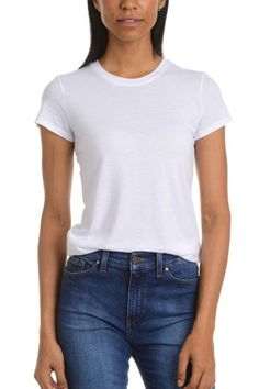 7 Best White T Shirts - Perfect White Tee Shirts To Add to Your Summer Wardrobe, Doen Bridgitte Top 7 Best White T Shirts - Perfect White Tee Shirts To Add to Your Summer Wardrobe. Plain White T Shirt, White Tee Shirts, White Tees, White Tshirt Women, Tie Dye, Geile T-shirts, Brand Name Clothing, T Shirt Diy, T Shirts With Sayings