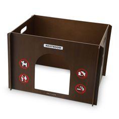REPLUS/restroom モカ 9450yen ペットにも人間にも配慮されたトイレ用の目隠し囲い