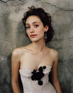 Emmy Rossum-no make-up makeup