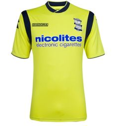 4de72385d41 Birmingham City FC Diadora Away Kit 2013 14 Birmingham City Fc