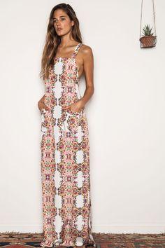 Apron Maxi Dress Original Price $165.00 Sale Price $99.00