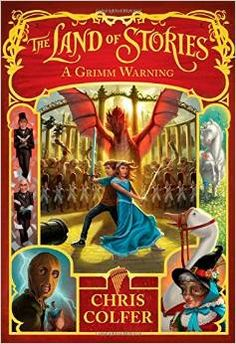 Book Release of the Week: A Grimm Warning (The Land of Stories Series #3)