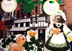 Groundhog's St. Patrick's Day Card front