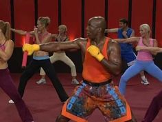 50 min - needs a stick - Fat Burn Accelerator | Tae Bo Amped by Billy Blanks - YouTube
