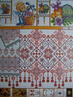 Cross Stitch Easter Pattern Towel Napkin Tablecloth Pillow Ukrainian Embroidery   eBay